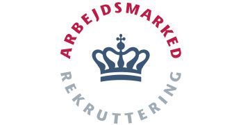 Syg I Haderslev | Styrelsen for Arbejdsmarked og Rekruttering logo