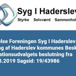 Syg i Haderslev | Redegørelse SIH i anledning af Haderslev kommunes BIU beslutning fra den 15.08.2019 Sagsid: 19/43986