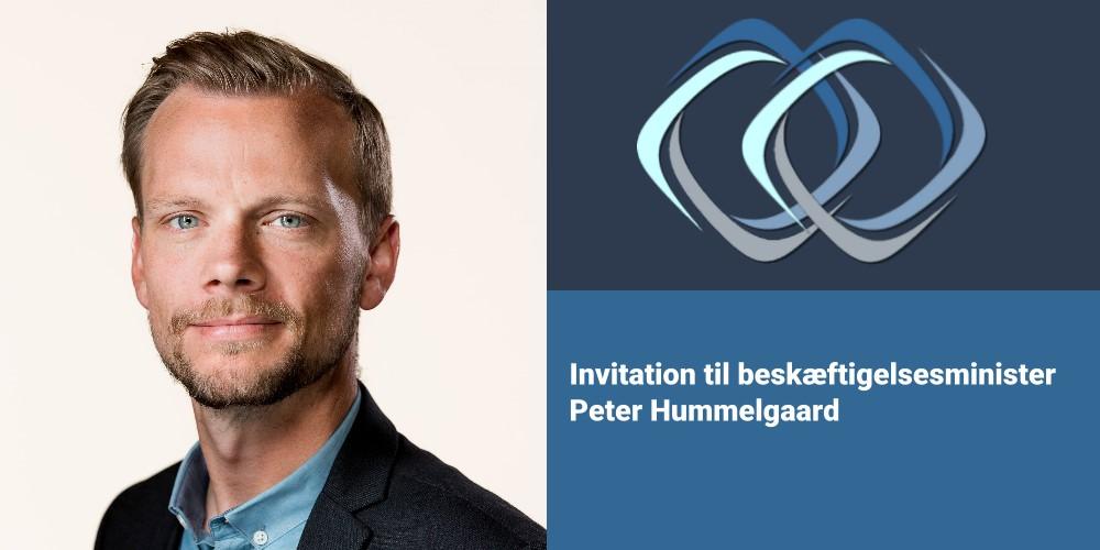 Syg i Haderslev | Invitation til beskæftigelsminister Peter Hummelgaard