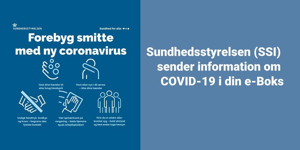 Syg i Haderslev | Sundhedsstyrelsen sender brev til din e-boks angående covid-19