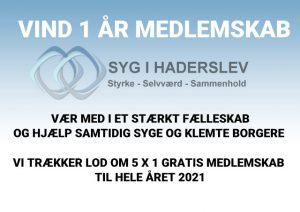 Syg i Haderslev | Vind 1 års gratis medlemskab for året 2021
